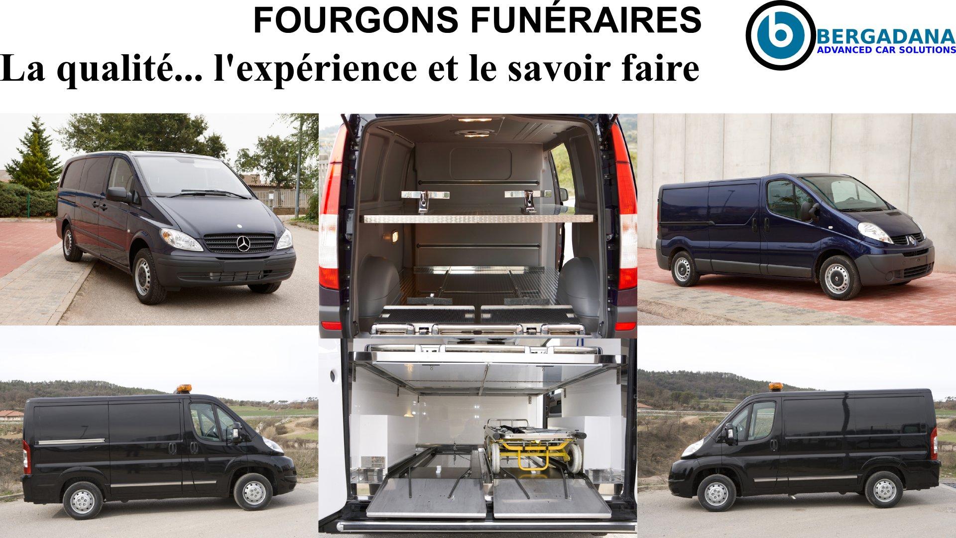 LES FOURGONS FUNÉRAIRES POUR LE TRANSPORT ET RÉQUISITION