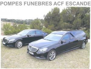 Convoi funeraire services ACF Escande