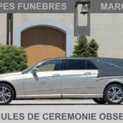Mercedes Benz, le corbillard limousne pour le dernier voyage.