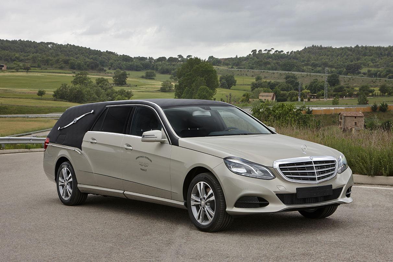 Limousine funeraire Osiris Mercedes 3400