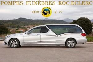 Limousine funéraire STYLO Mercedes