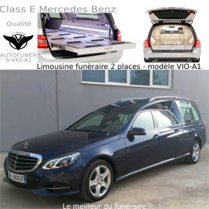 Corbillard limousine Mercedes Benz 2 places Modèle a1