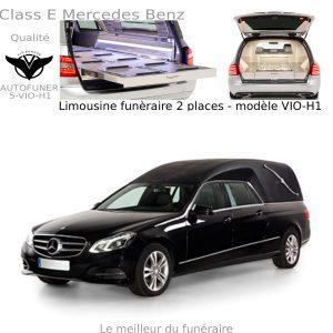 Corbillard limousine Mercedes Benz 2 places modèle H1