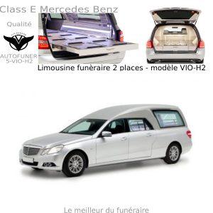 Corbillard limousine Mercedes Benz modèle H2
