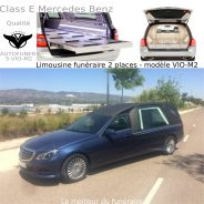 Corbillards limousines 2 places catalogue