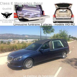 Corbillard limousine Mercedes Benz modèle M2
