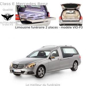 Corbillard limousine Mercedes Benz modèle P3