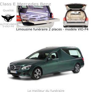 Corbillard limousine Mercedes Benz modèle P4
