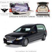 Les corbillards limousines de ceremonie funeraire