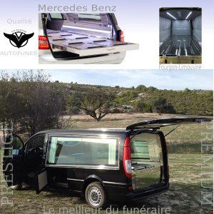 Fourgon funéraire limousine