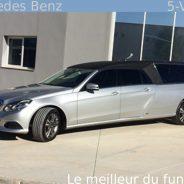 Limousines funeraires Mercedes Benz 5 places