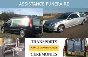 Corbillards transport et cérémonie