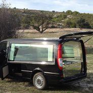 Vehicules funeraires, corbillards fourgon limousine classe premium.