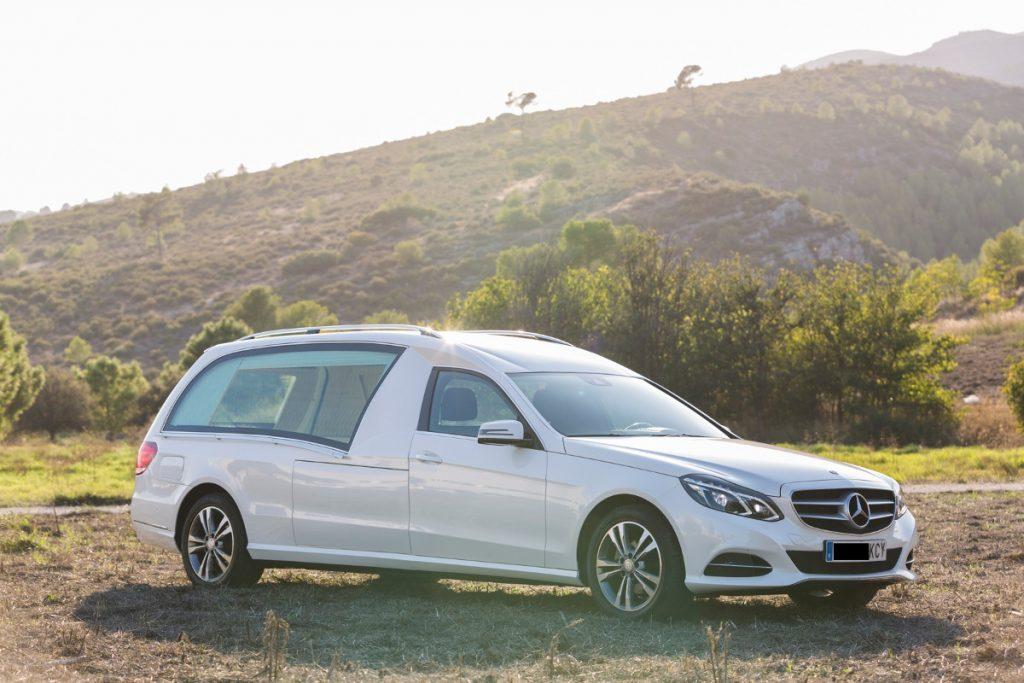 Lignes corbillards Mercedes