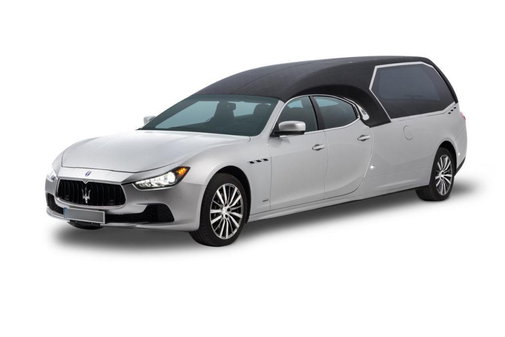 Véhicule funéraire Maserati