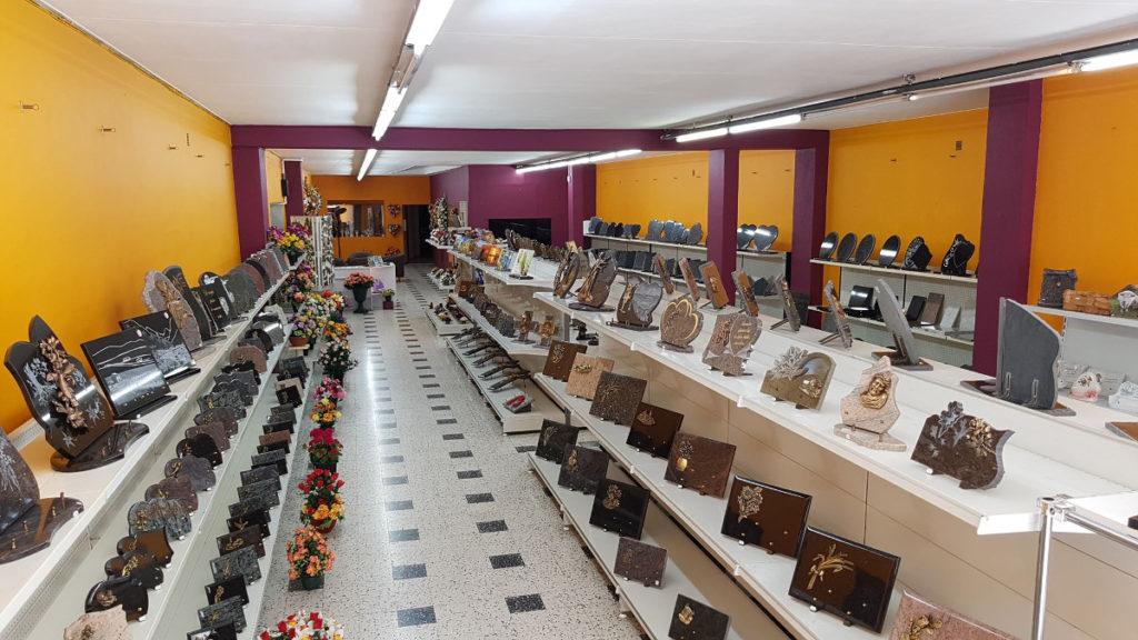 intérieur magasin Béziers