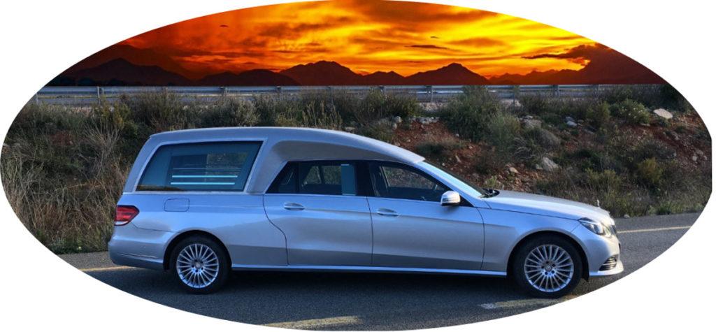 Limousine funéraire hybride