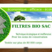 Funeraire: travaillez en securite avec Bio Sac 200