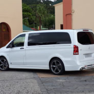 Corbillard Mercedes Benz Vito design Martinique
